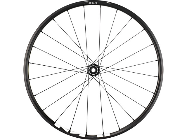"Shimano WH-MT500 MTB Front Wheel 27,5"" Disc CL Clincher E-Thru 110mm, black"